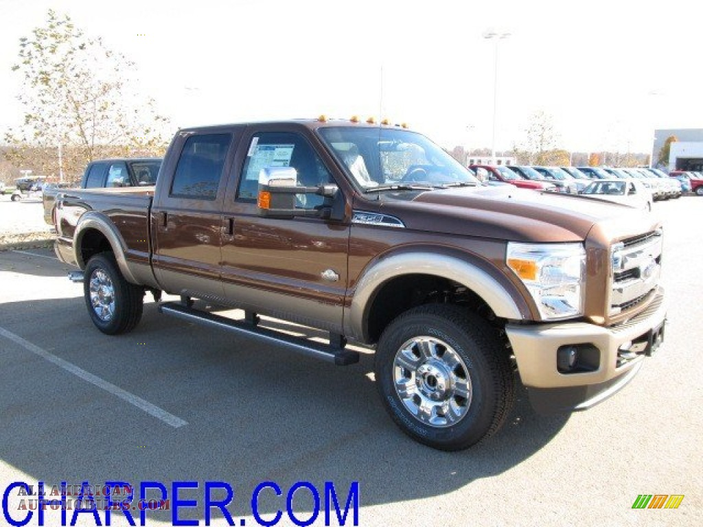 2012 ford f350 super duty king ranch crew cab 4x4 in golden bronze metallic a64128 all. Black Bedroom Furniture Sets. Home Design Ideas