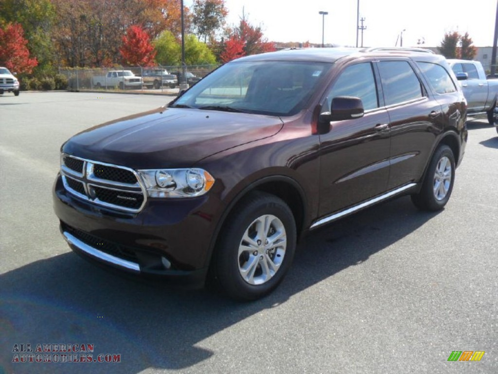 2012 Dodge Durango Crew Awd In Deep Molten Red Pearl