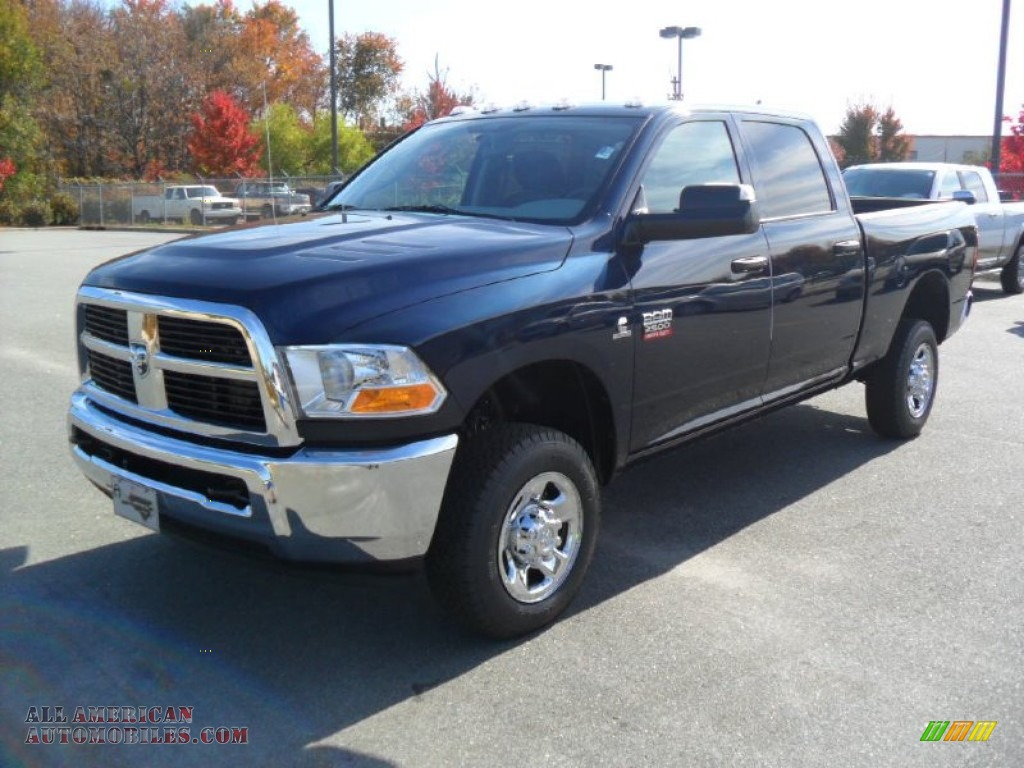 2012 Dodge Ram 2500 Hd St Crew Cab 4x4 In Midnight Blue Pearl 134615 All American Automobiles Buy American Cars For Sale In America