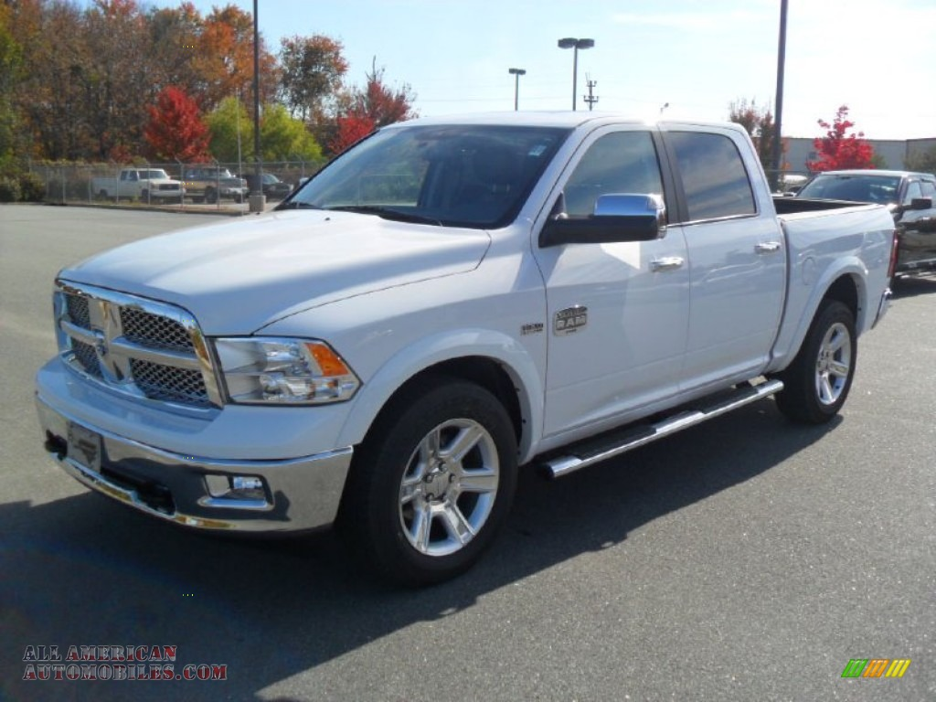 2012 dodge ram 1500 laramie longhorn crew cab 4x4 in bright white photo 23 131724 all. Black Bedroom Furniture Sets. Home Design Ideas