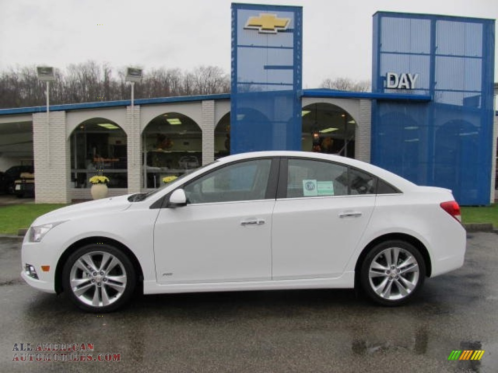 2012 chevrolet cruze ltz rs in summit white photo 2 208013 all american automobiles buy. Black Bedroom Furniture Sets. Home Design Ideas
