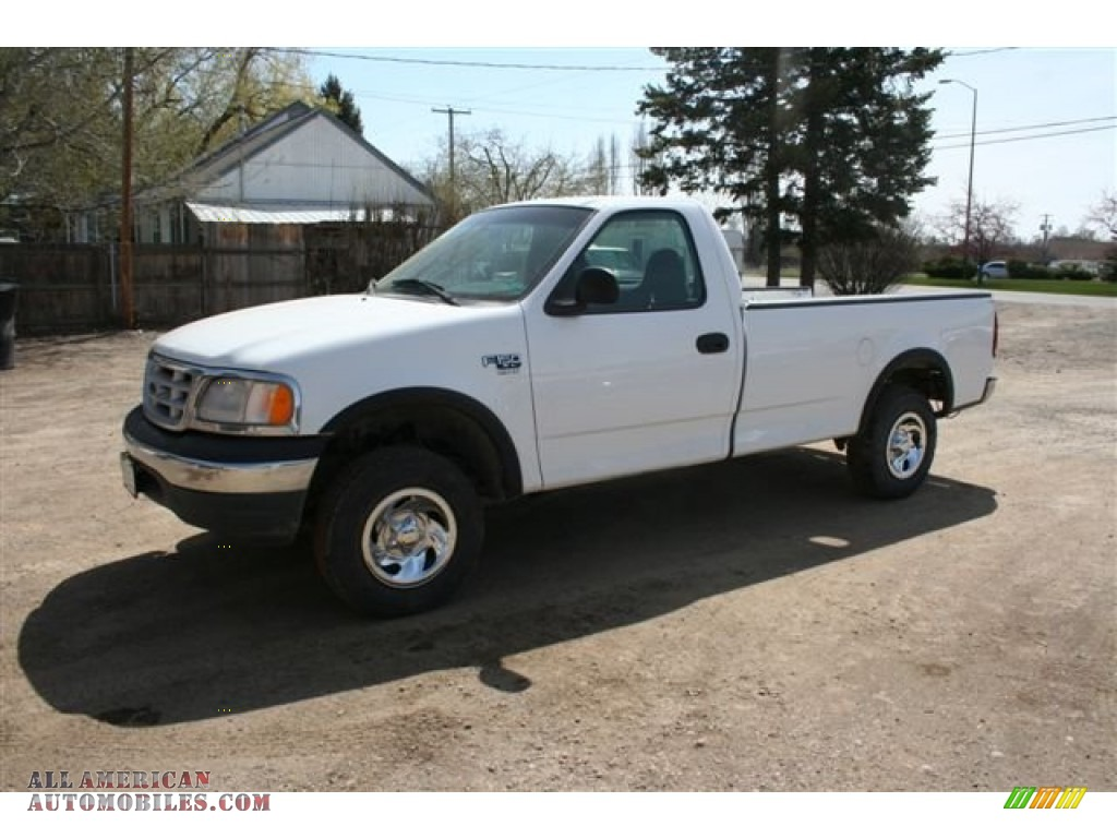 1999 ford f150 xlt regular cab 4x4 in oxford white photo 5 c15218 all american automobiles. Black Bedroom Furniture Sets. Home Design Ideas