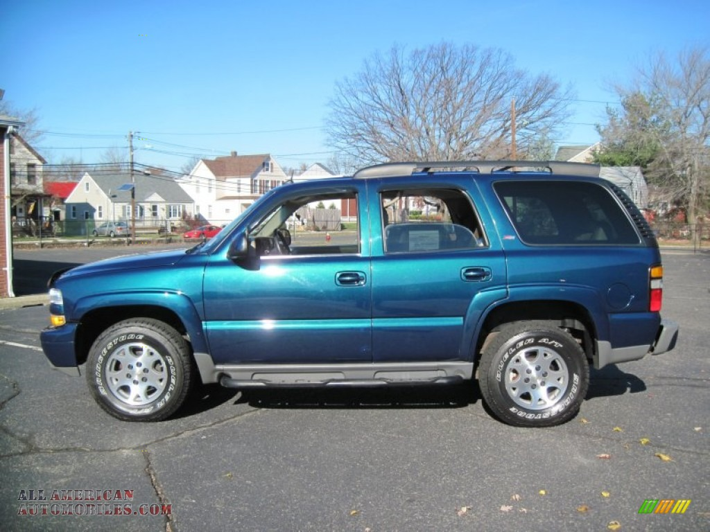 2005 Chevrolet Tahoe Z71 4x4 In Bermuda Blue Metallic