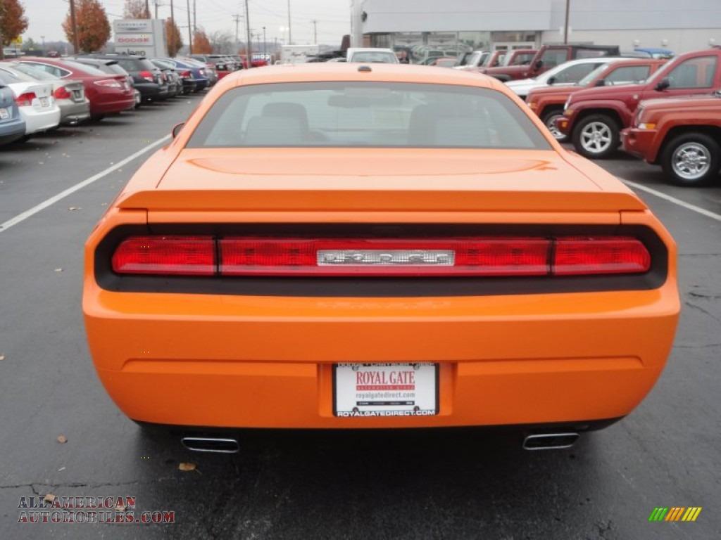 2012 dodge challenger r t classic in header orange photo for Royal chrysler motors inc