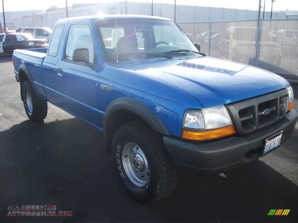 Dodge Dealer Yakima >> 2000 Ford Ranger XLT SuperCab 4x4 in Bright Atlantic Blue Metallic photo #4 - A86413 | All ...