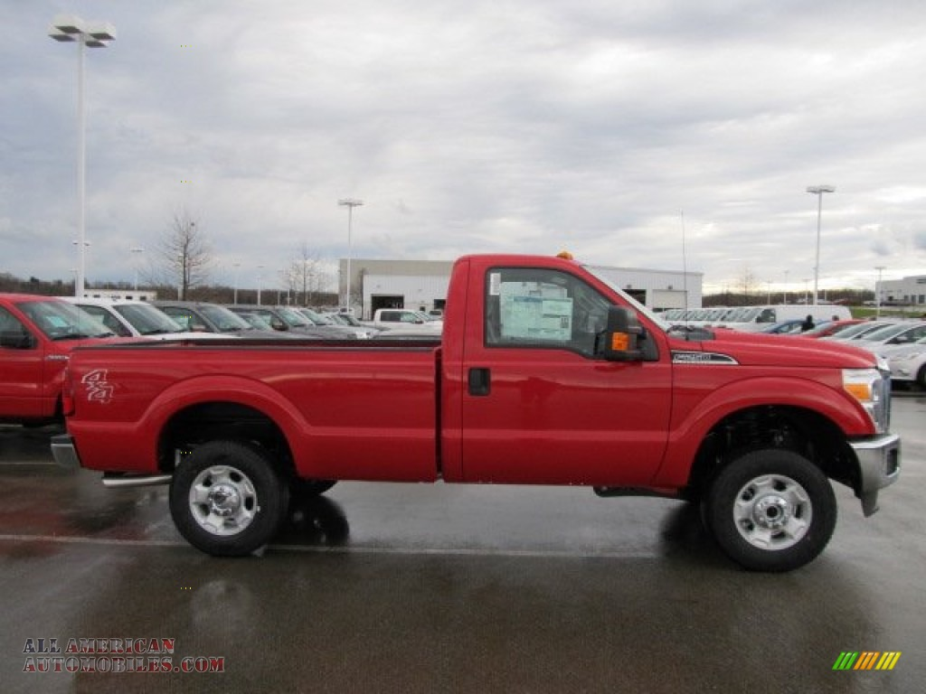 2012 ford f250 super duty xlt regular cab 4x4 in vermillion red photo 2 a91428 all american. Black Bedroom Furniture Sets. Home Design Ideas