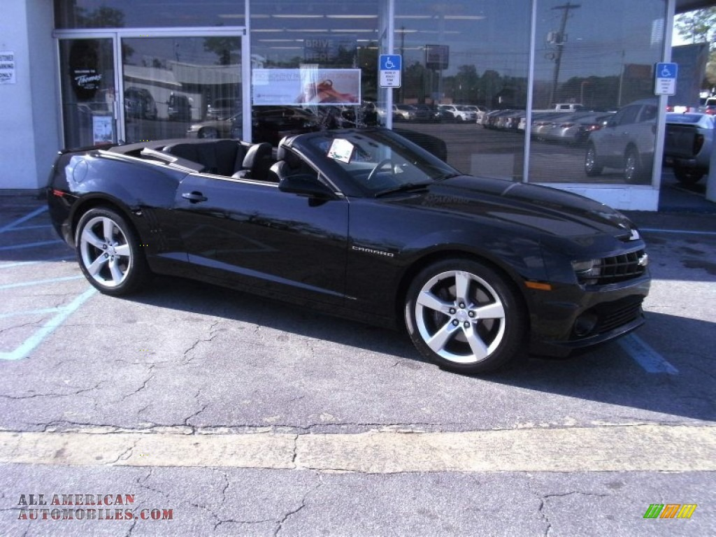 2011 chevrolet camaro ss convertible in black photo 4 188286 all. Cars Review. Best American Auto & Cars Review