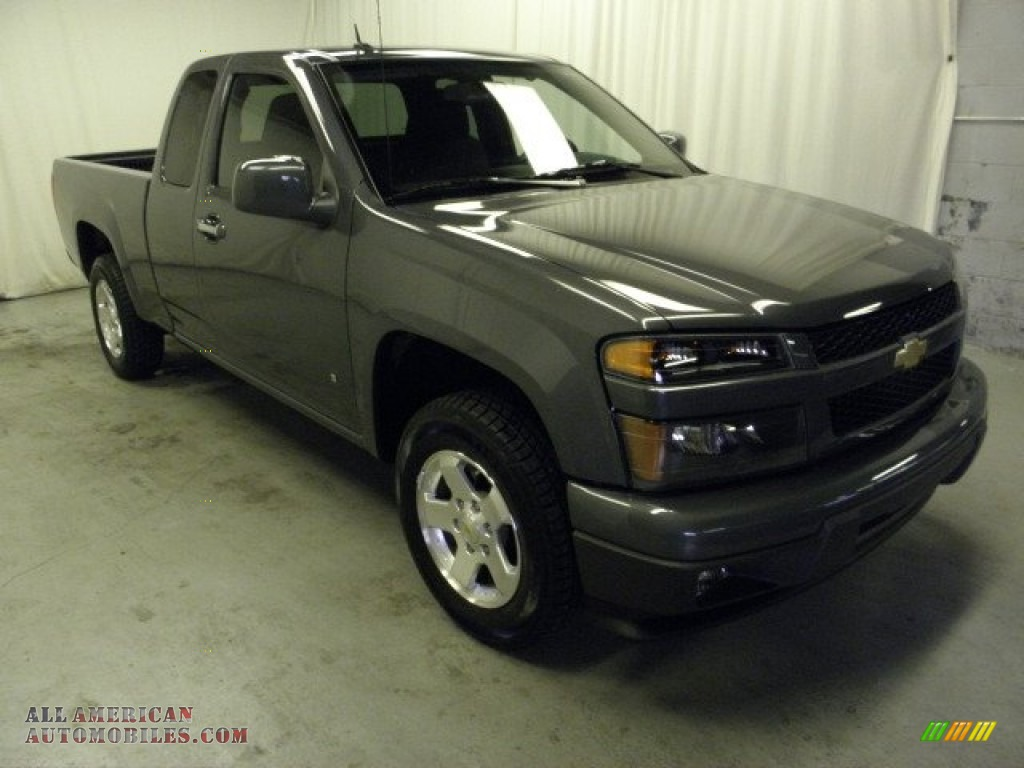 2009 chevrolet colorado lt extended cab in dark gray metallic 155654. Cars Review. Best American Auto & Cars Review