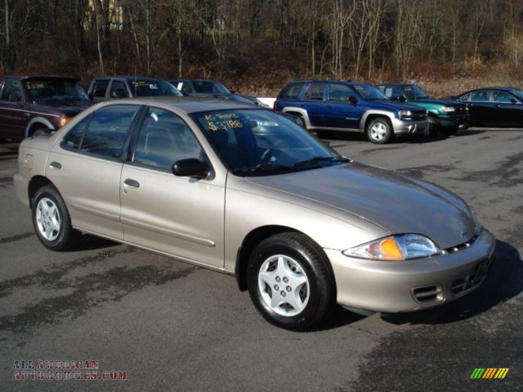 2002 chevrolet cavalier sedan in mayan gold metallic 146184 all. Cars Review. Best American Auto & Cars Review