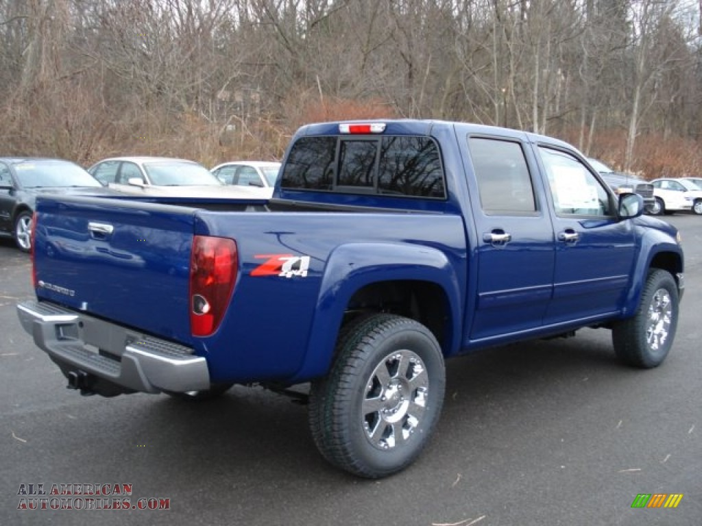 2012 chevrolet colorado lt crew cab 4x4 in deep navy photo 8 125915 all american. Black Bedroom Furniture Sets. Home Design Ideas