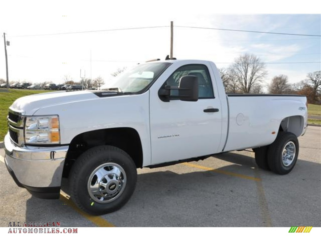 2012 Chevrolet Silverado 3500hd Lt Regular Cab 4x4 Dually