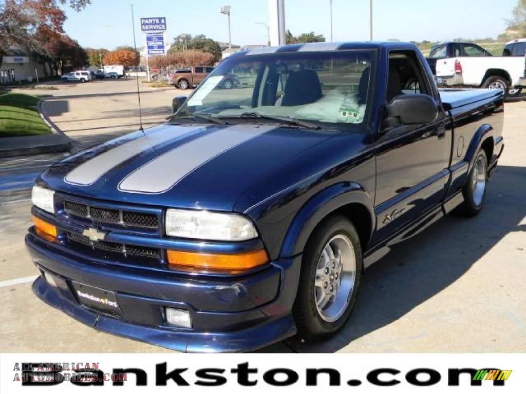 2003 chevrolet s10 xtreme regular cab in indigo blue metallic 229737 all american. Black Bedroom Furniture Sets. Home Design Ideas