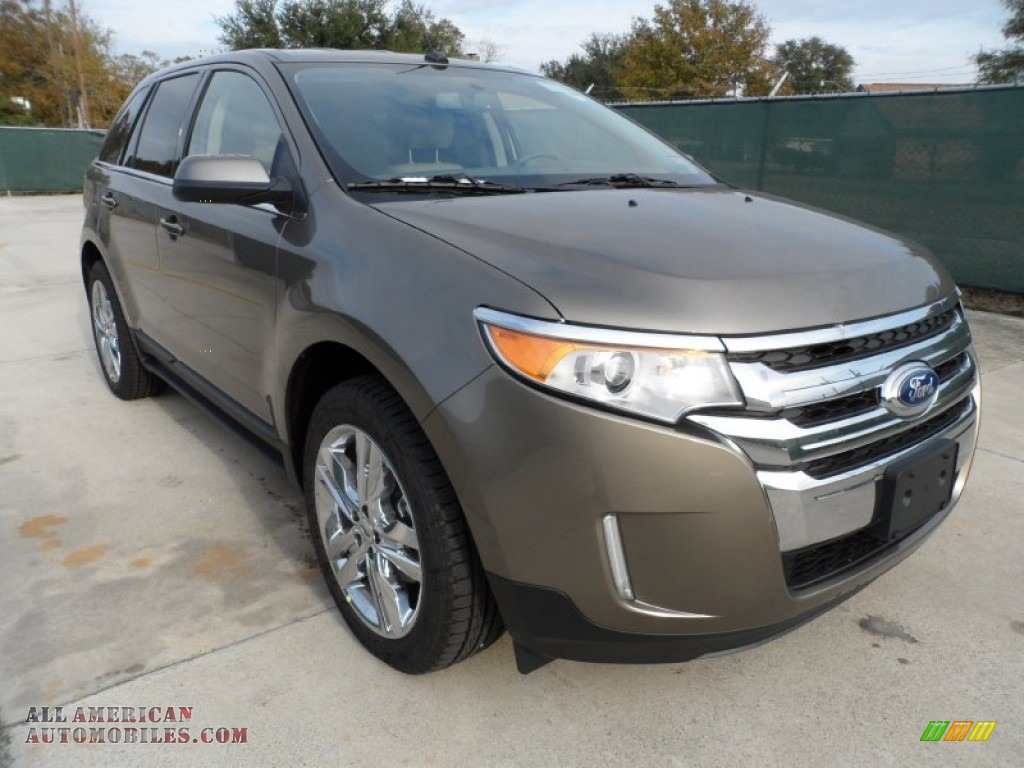 2012 ford edge limited ecoboost in mineral grey metallic a53131 all american automobiles. Black Bedroom Furniture Sets. Home Design Ideas