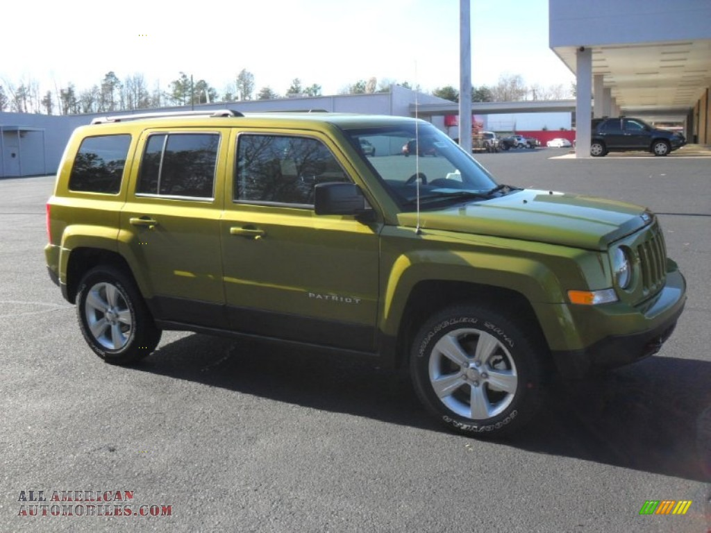 2012 Jeep Patriot Latitude 4x4 In Mineral Gray Metallic ...