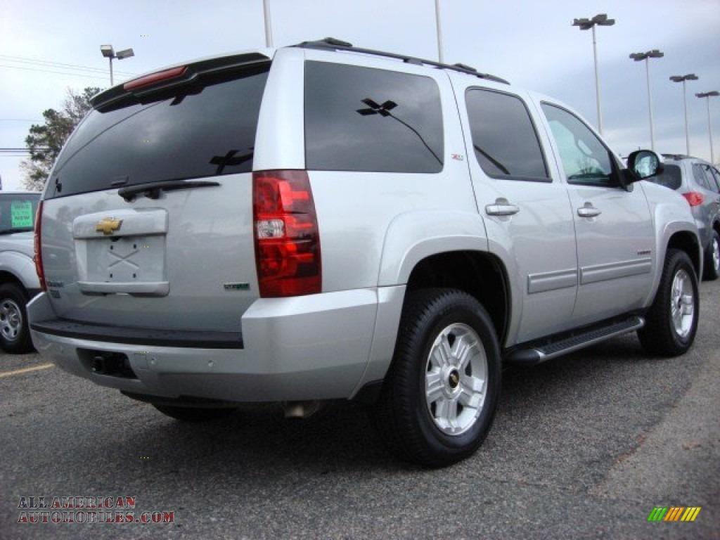 2010 Chevrolet Tahoe Z71 4x4 In Sheer Silver Metallic
