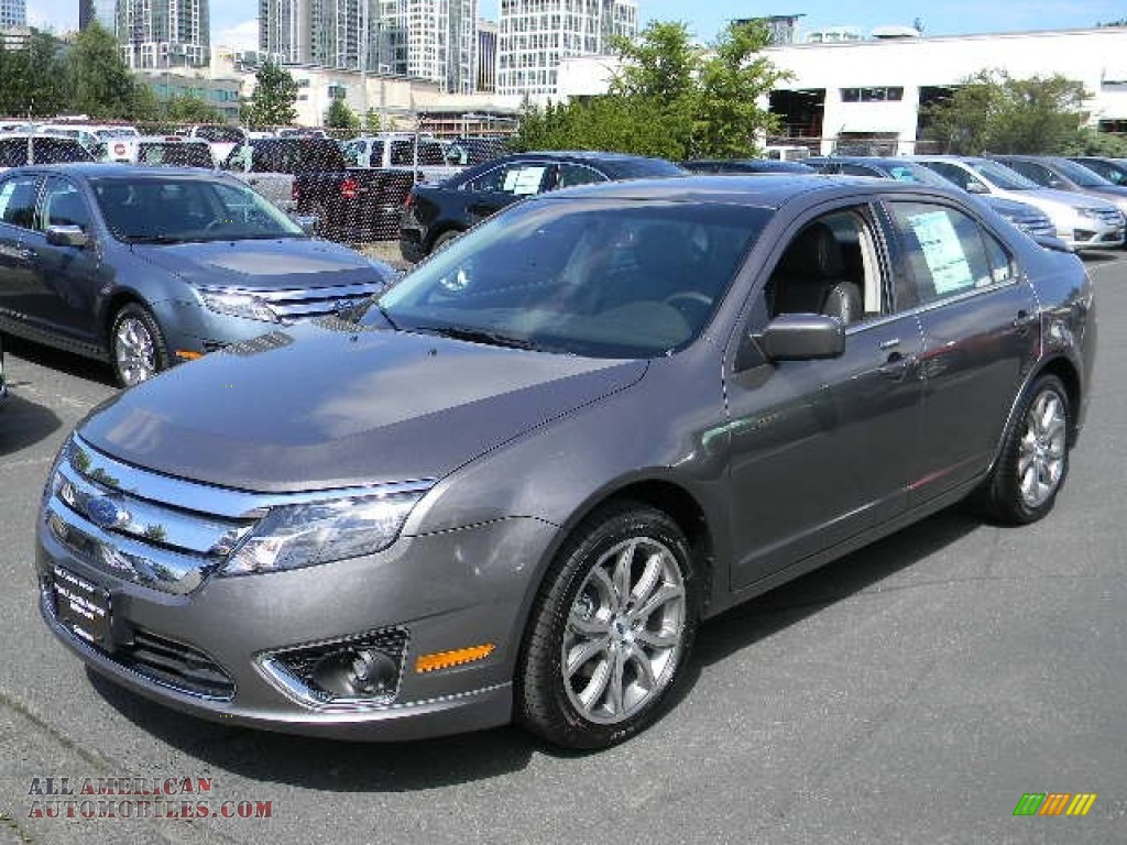 2012 ford fusion sel v6 in sterling grey metallic 138130 all american automobiles buy. Black Bedroom Furniture Sets. Home Design Ideas