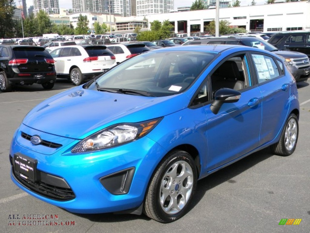 2012 Ford Fiesta Ses Hatchback In Blue Candy Metallic