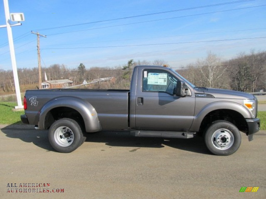 2012 ford f350 super duty xl regular cab 4x4 dually in sterling grey metallic photo 2 a96088. Black Bedroom Furniture Sets. Home Design Ideas