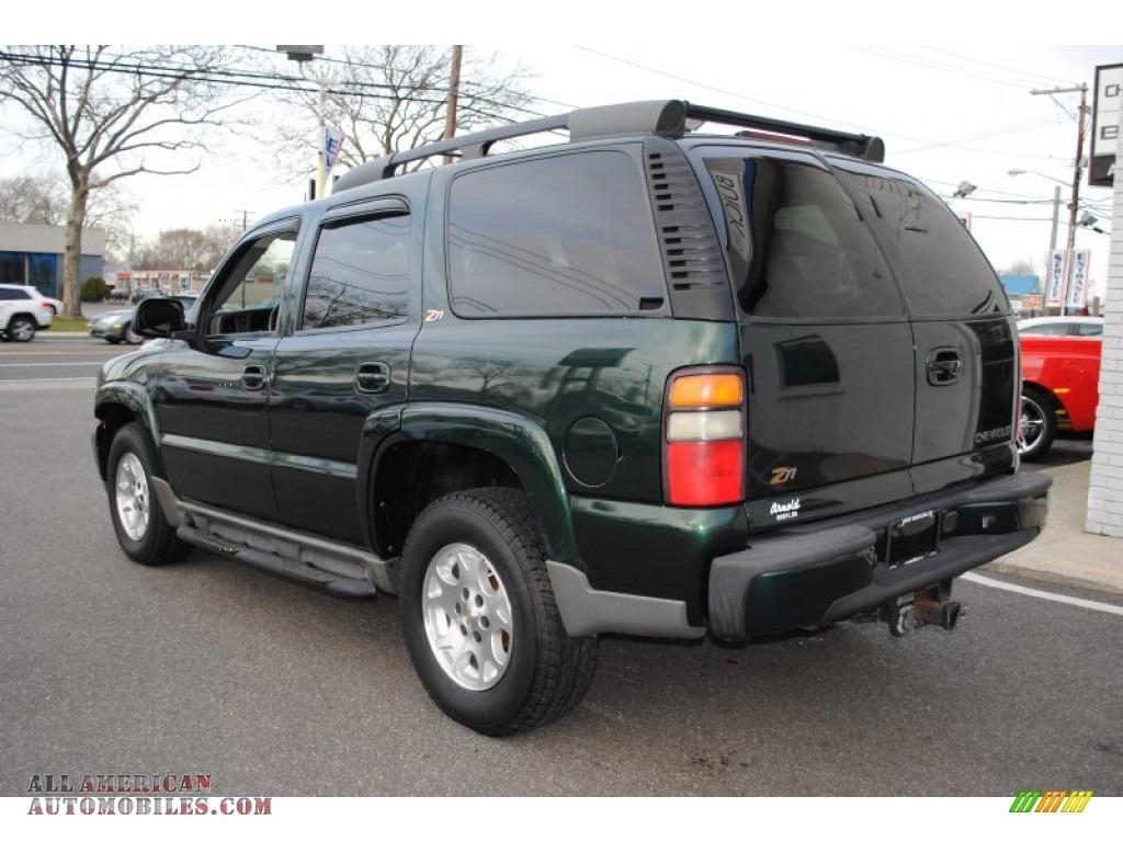 2004 chevrolet tahoe z71 4x4 in dark green metallic photo 4 185880 all american automobiles. Black Bedroom Furniture Sets. Home Design Ideas