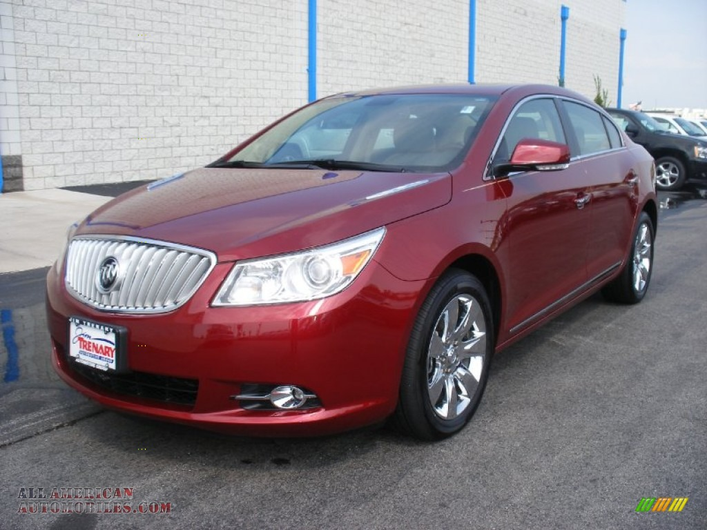 2010 buick lacrosse cxl awd in red jewel tintcoat photo 26 149270 all american automobiles. Black Bedroom Furniture Sets. Home Design Ideas