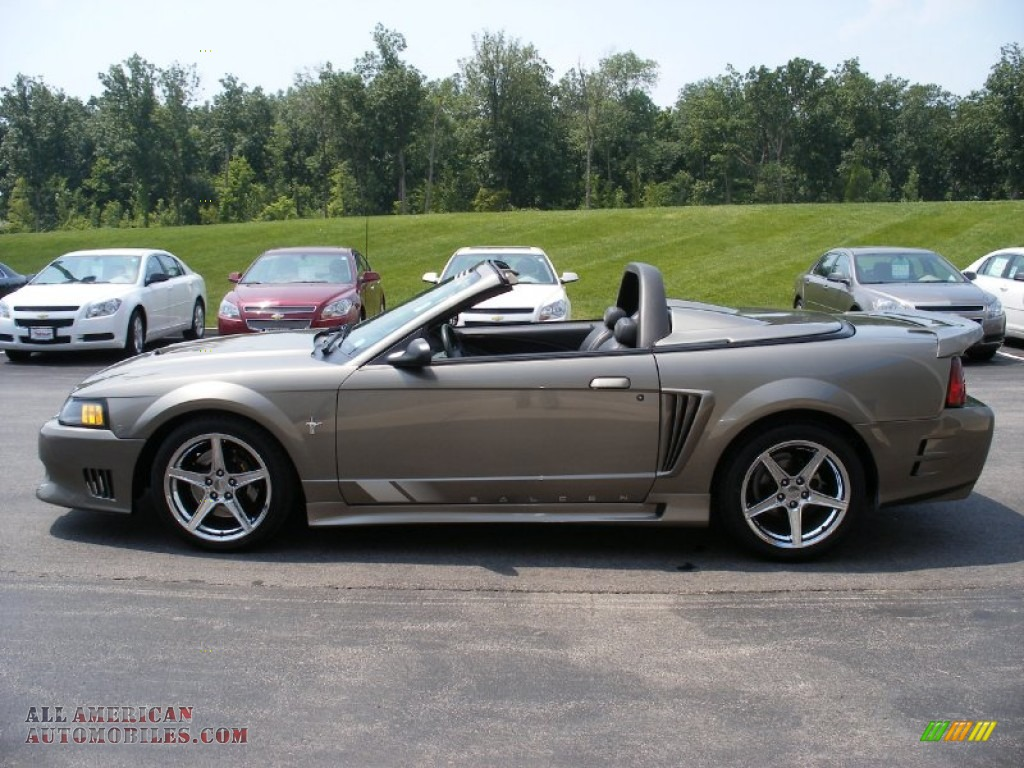 2001 ford mustang saleen s281 supercharged convertible in mineral grey metallic 148322 all. Black Bedroom Furniture Sets. Home Design Ideas