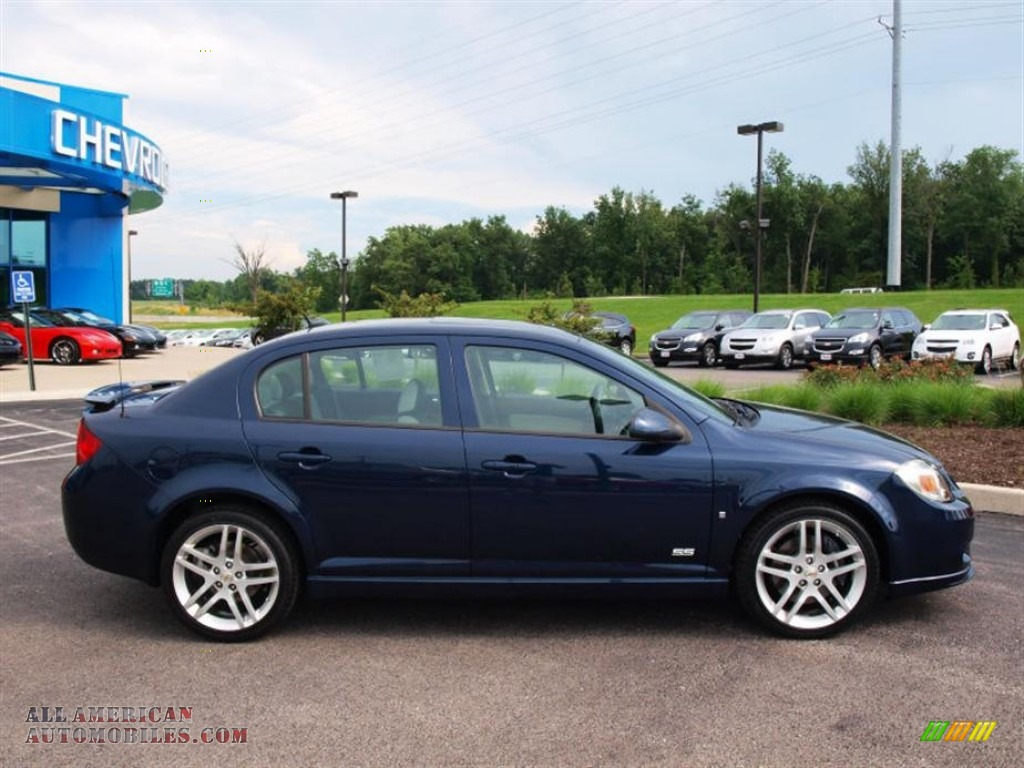 2009 chevrolet cobalt ss sedan in imperial blue metallic. Black Bedroom Furniture Sets. Home Design Ideas