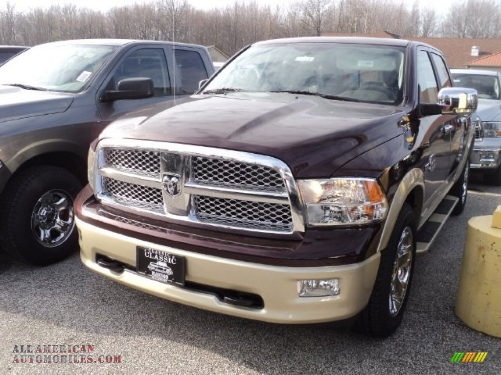 2012 dodge ram 1500 laramie longhorn crew cab 4x4 in deep molten red pearl 174942 all. Black Bedroom Furniture Sets. Home Design Ideas