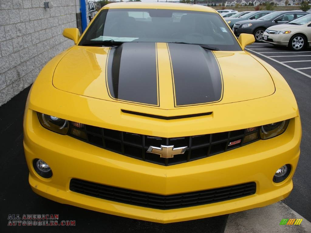 2010 chevrolet camaro ss coupe transformers special edition in rally yellow photo 6 142534. Black Bedroom Furniture Sets. Home Design Ideas