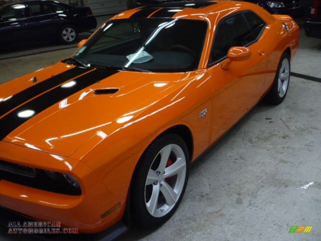 2012 dodge challenger srt8 392 in header orange photo 4 130646 all american automobiles. Black Bedroom Furniture Sets. Home Design Ideas