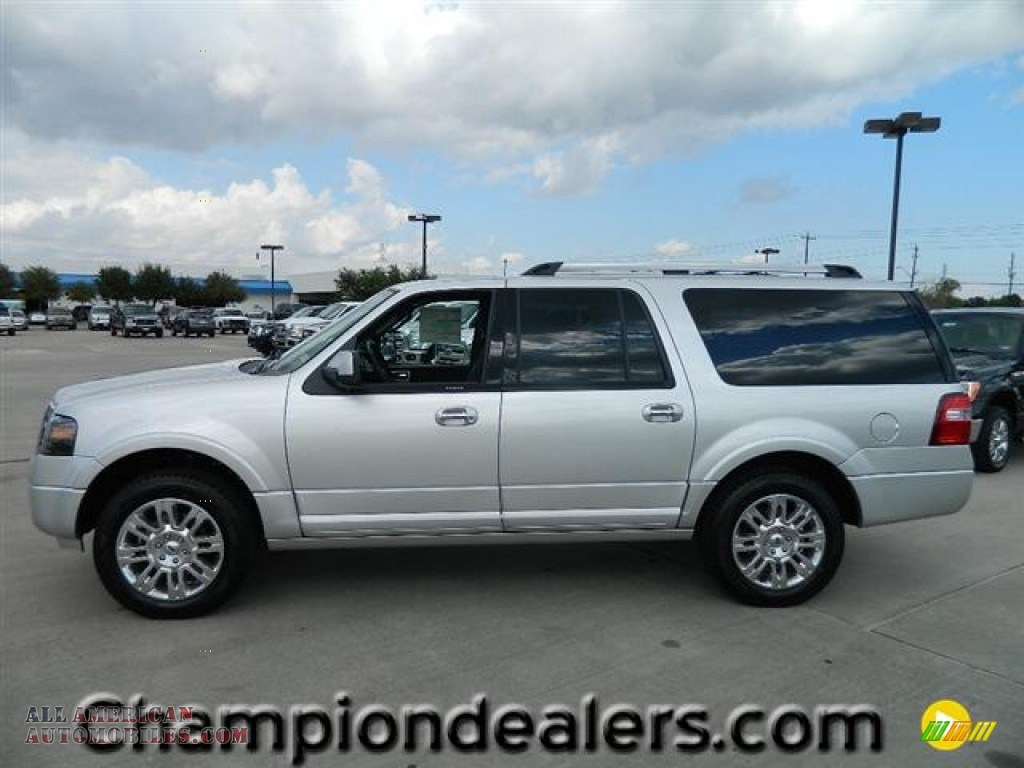 2012 ford expedition el limited in ingot silver metallic f09452 all american automobiles. Black Bedroom Furniture Sets. Home Design Ideas