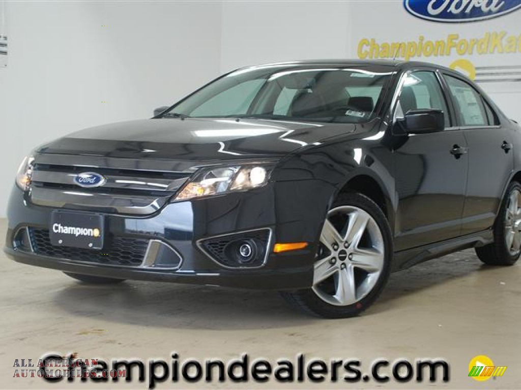 2012 ford fusion sport in tuxedo black metallic 224398 all american automobiles buy. Black Bedroom Furniture Sets. Home Design Ideas