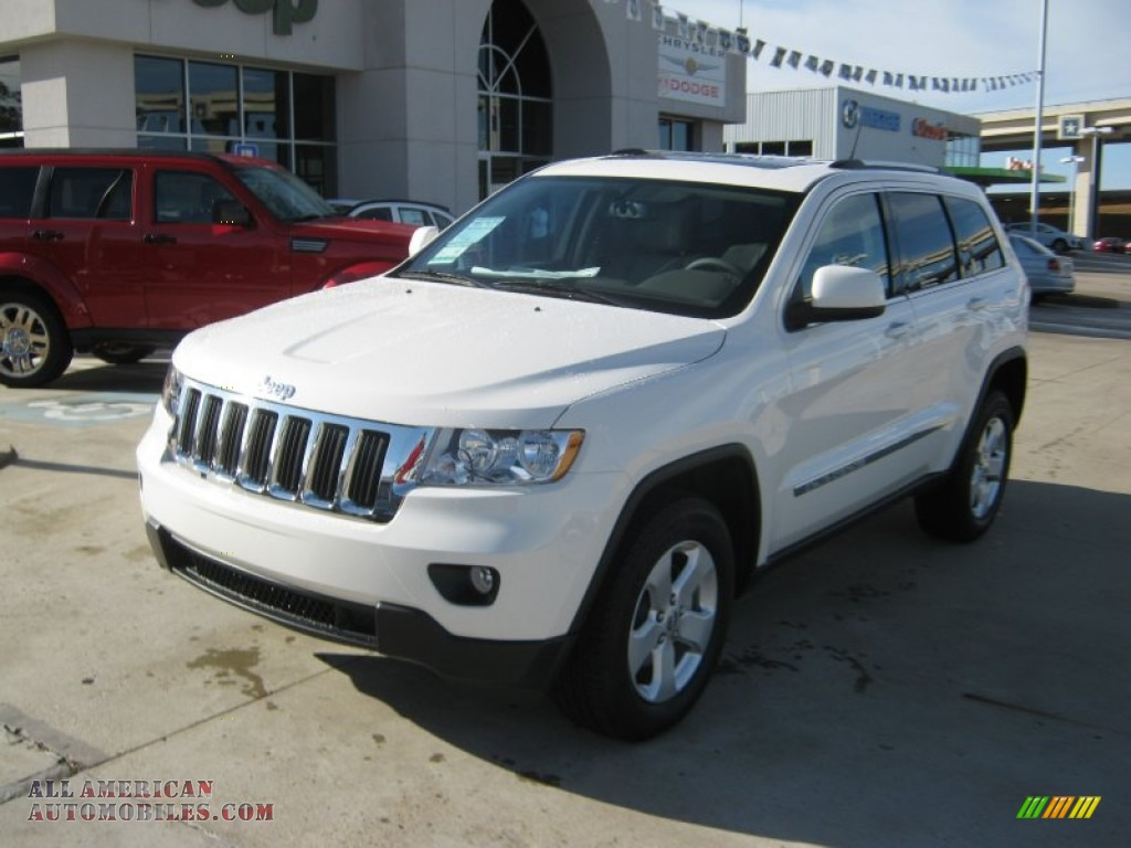 2012 jeep grand cherokee laredo x package 4x4 in stone white photo 3 179500 all american. Black Bedroom Furniture Sets. Home Design Ideas