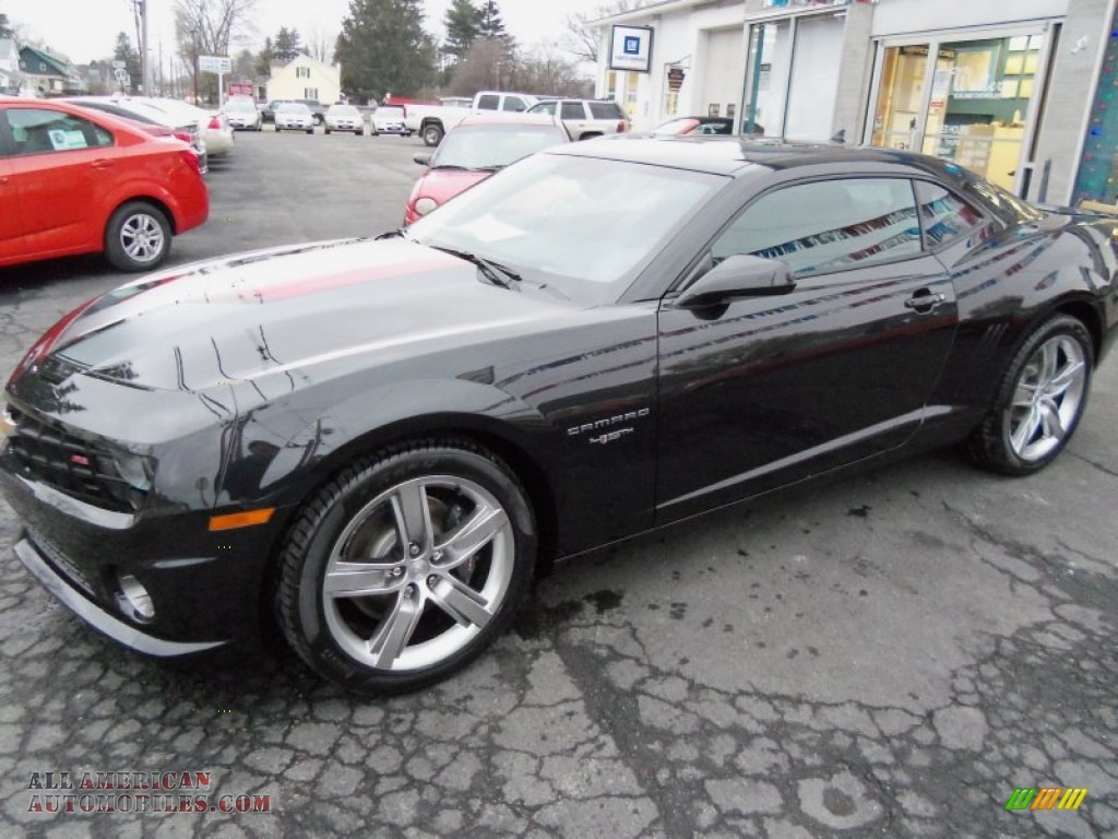 2012 chevrolet camaro ss 45th anniversary edition coupe in black photo. Cars Review. Best American Auto & Cars Review