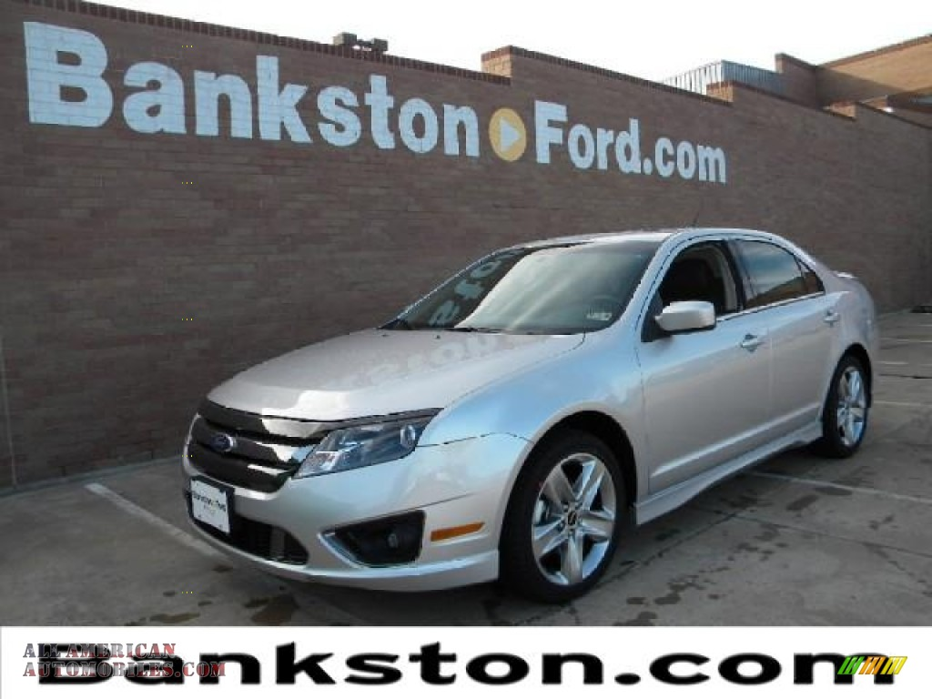 2012 ford fusion sport in ingot silver metallic 231047 all american automobiles buy. Black Bedroom Furniture Sets. Home Design Ideas
