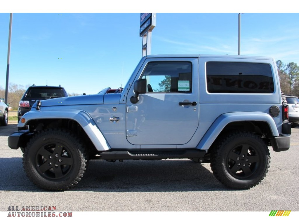 2012 Jeep Wrangler Sahara Arctic Edition 4x4 In Winter