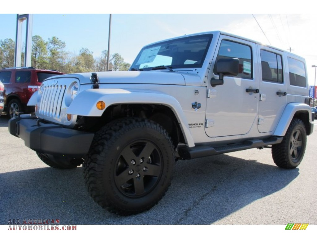 2012 Jeep Wrangler Unlimited Sahara Arctic Edition 4x4 In