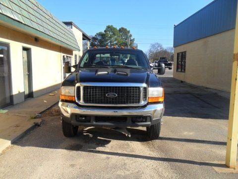 Black 2000 Ford F450 Super Duty XL Crew Cab Dually