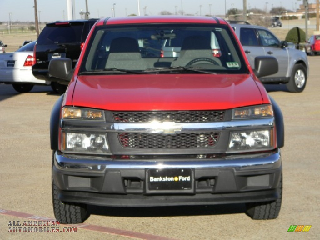2005 chevrolet colorado regular cab in victory red photo 2 147639 all american automobiles. Black Bedroom Furniture Sets. Home Design Ideas