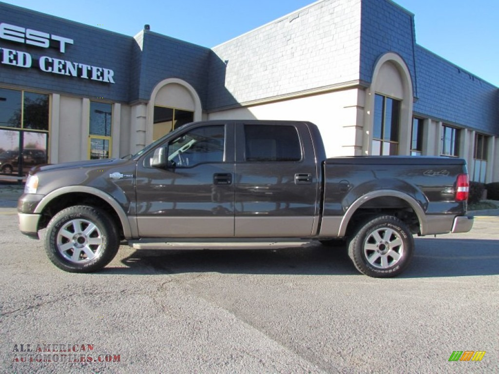 2005 Ford F150 King Ranch Supercrew 4x4 In Dark Stone