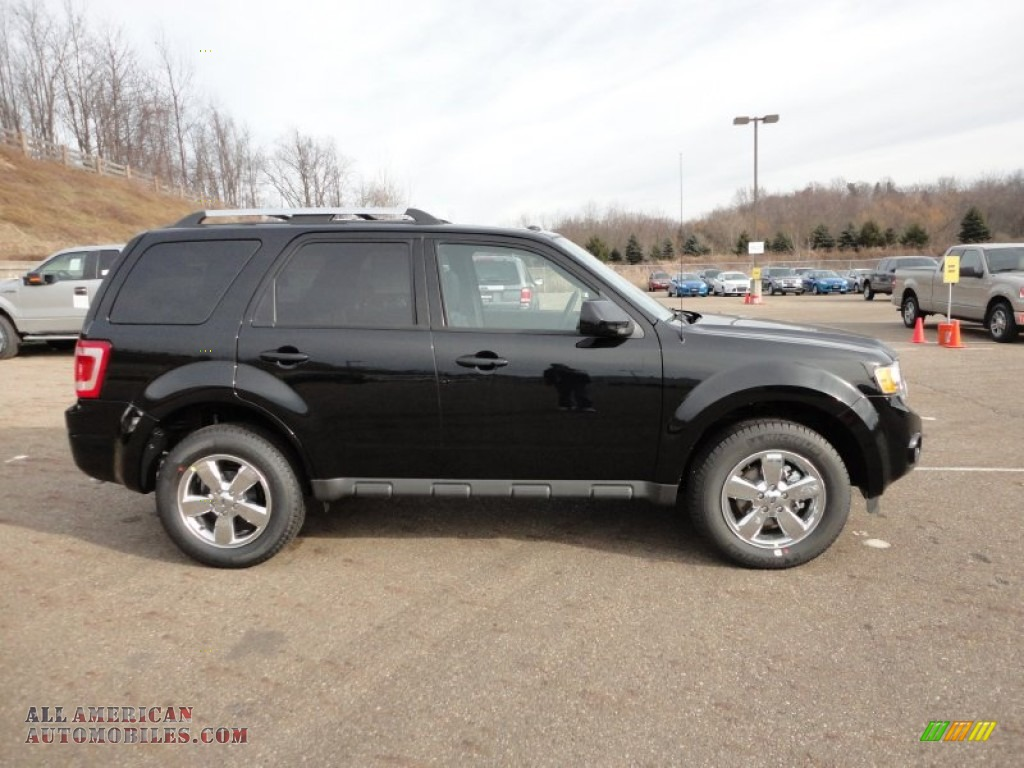 2012 ford escape limited in ebony black photo 6 b51200. Black Bedroom Furniture Sets. Home Design Ideas