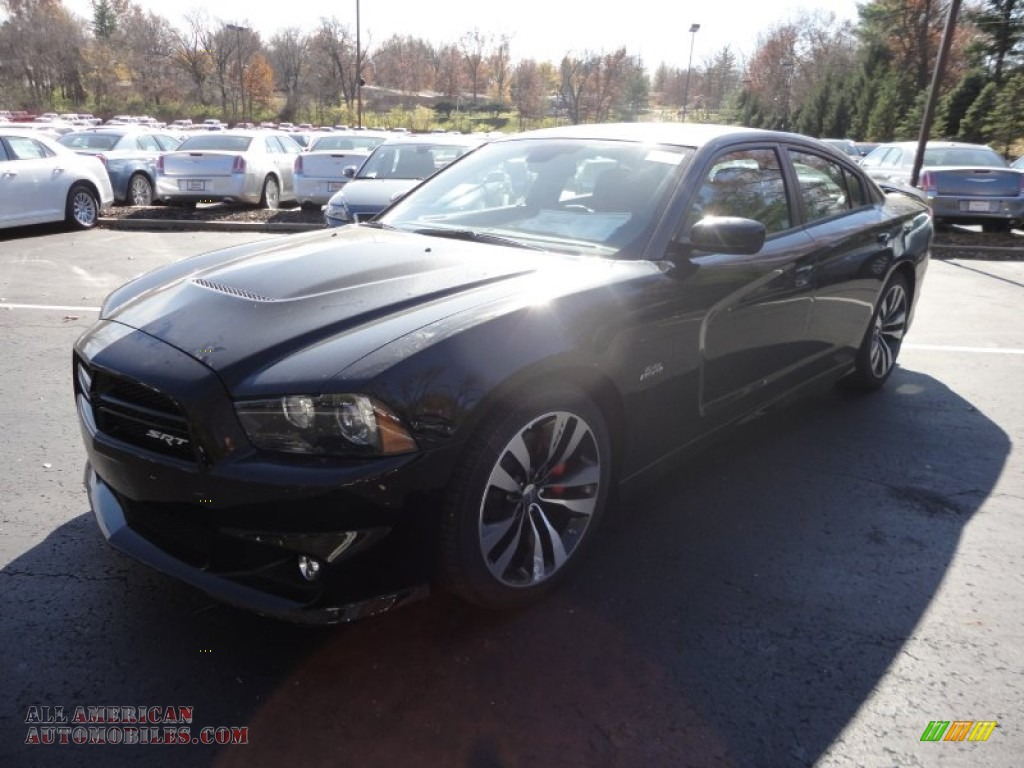 2012 dodge charger srt8 in pitch black 107709 all american automobiles buy american cars. Black Bedroom Furniture Sets. Home Design Ideas