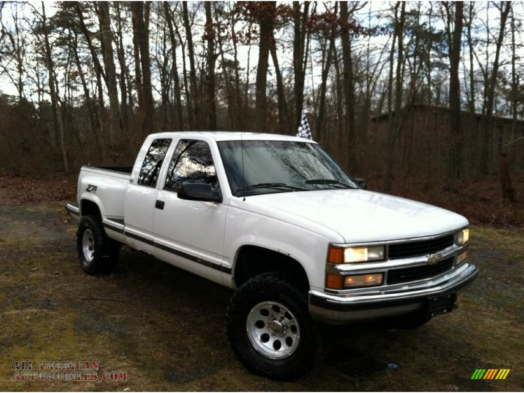 1995 chevrolet c k k1500 silverado z71 extended cab 4x4 in. Black Bedroom Furniture Sets. Home Design Ideas