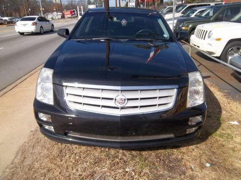 2009 Cadillac Sts 4 V6 Awd In Blue Diamond Tricoat Photo