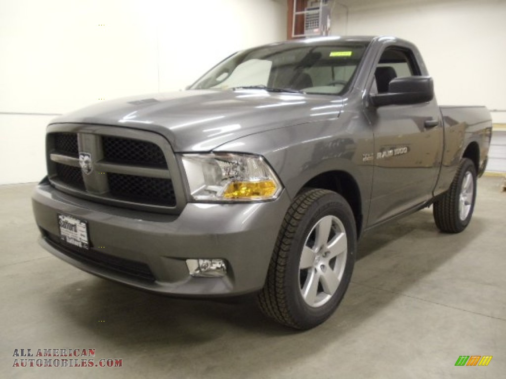 2012 dodge ram 1500 express regular cab 4x4 in mineral gray metallic. Cars Review. Best American Auto & Cars Review