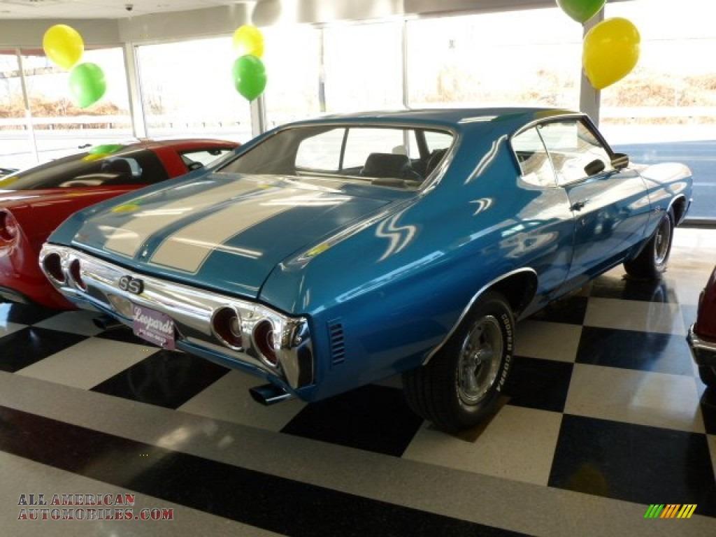 1972 Chevrolet Chevelle SS in Mulsanne Blue photo #5 ...