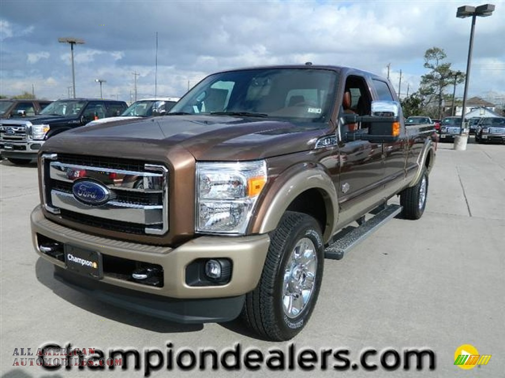 2012 ford f350 super duty king ranch crew cab 4x4 in golden bronze metallic b15007 all. Black Bedroom Furniture Sets. Home Design Ideas