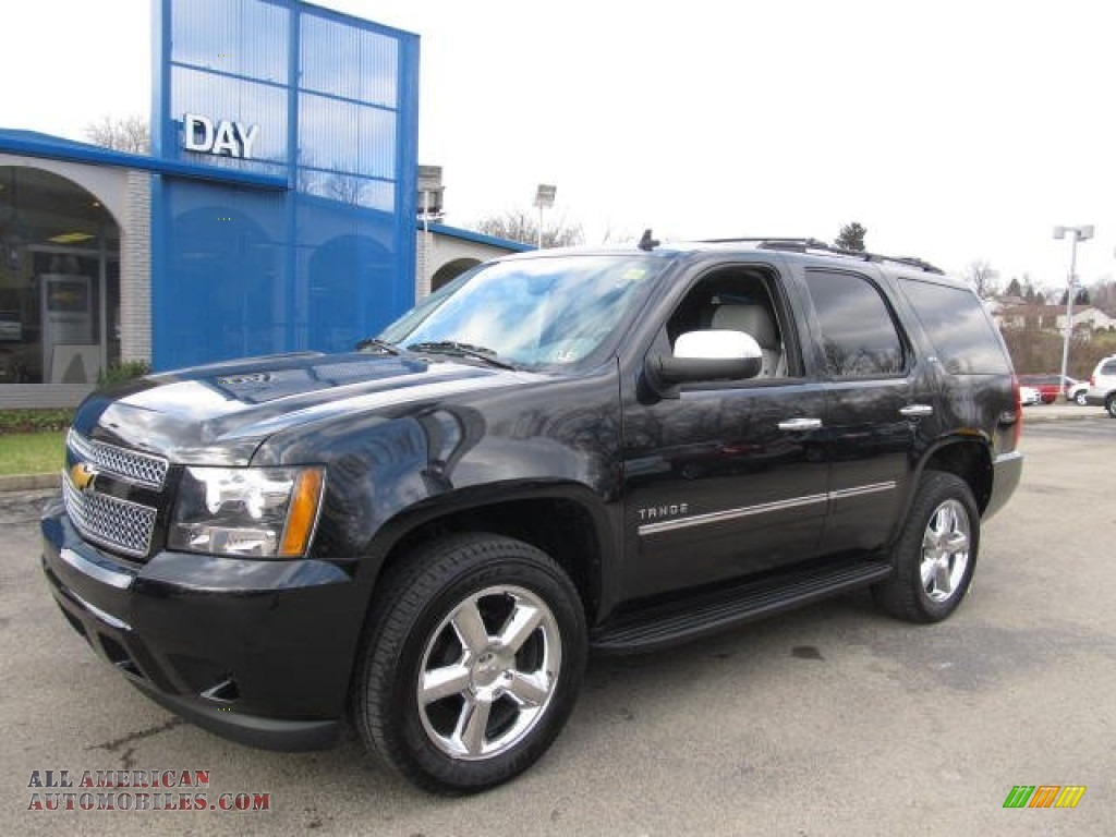 2012 chevrolet tahoe ltz 4x4 in black 142186 all american automobiles buy american cars. Black Bedroom Furniture Sets. Home Design Ideas