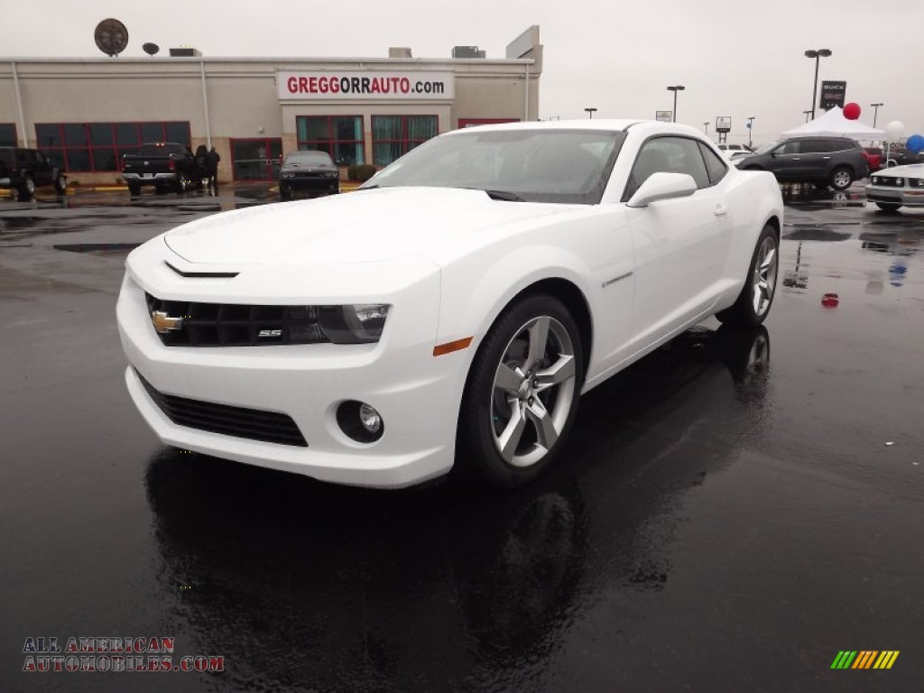2012 chevrolet camaro ss coupe in summit white 163279 all american automobiles buy. Black Bedroom Furniture Sets. Home Design Ideas