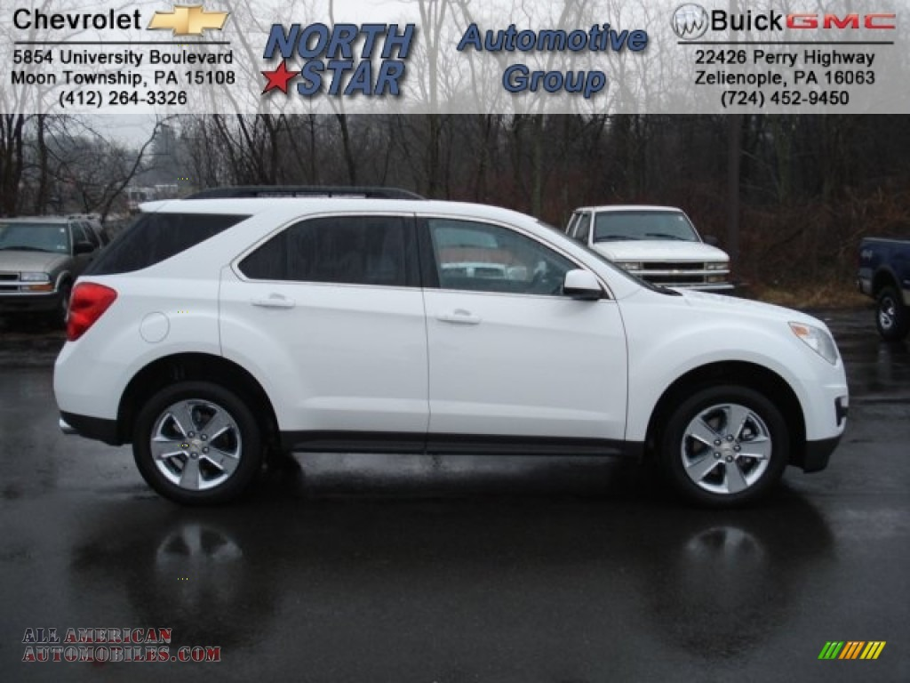 2012 chevrolet equinox lt awd in summit white photo 7 250093 all american automobiles buy. Black Bedroom Furniture Sets. Home Design Ideas