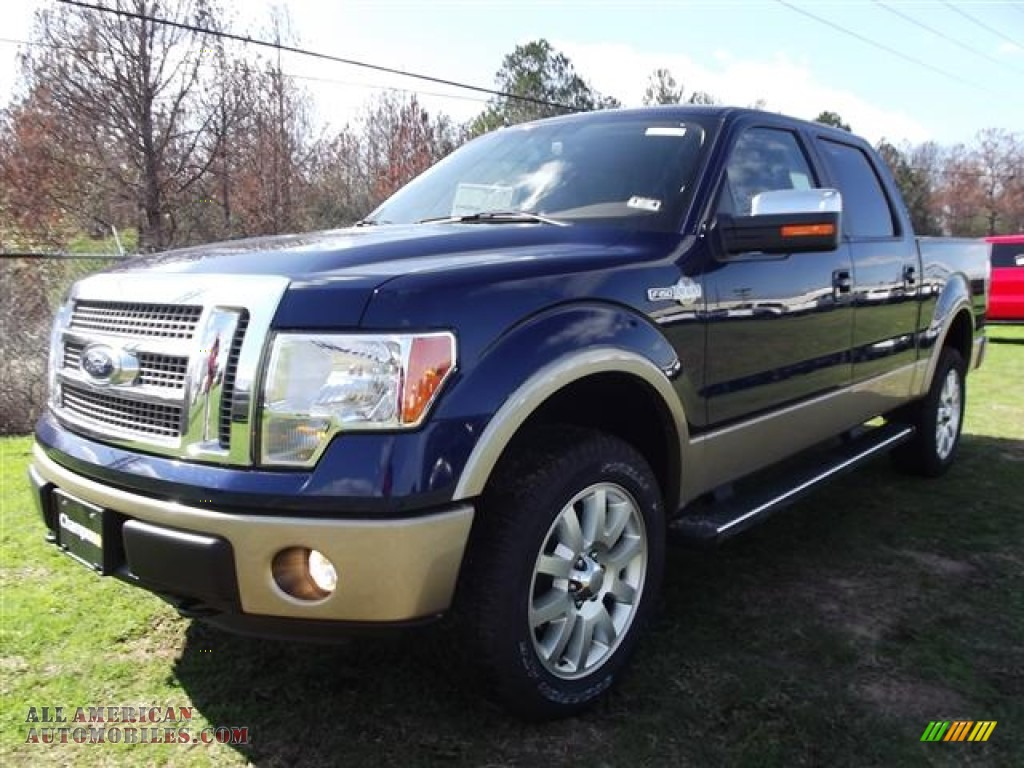 2012 ford f150 king ranch supercrew 4x4 in dark blue pearl metallic photo 3 d29628 all. Black Bedroom Furniture Sets. Home Design Ideas